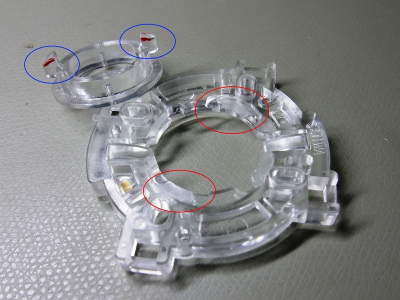 Modified restrictor plate